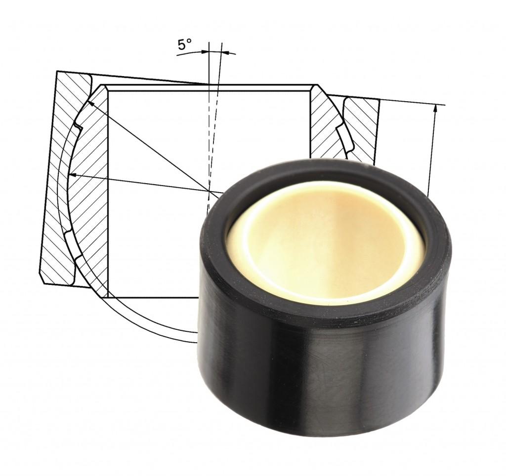 igus-polymer bearing