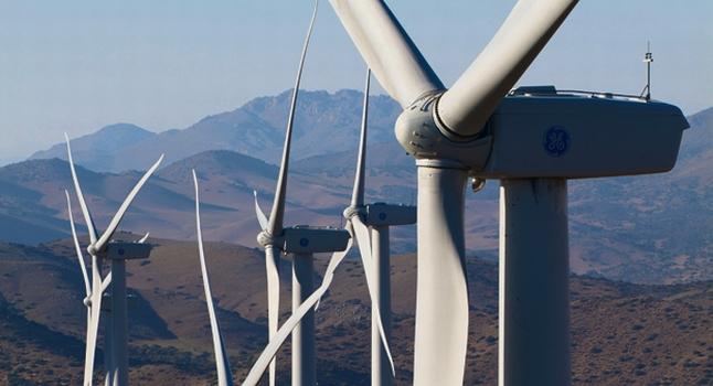 GE wind-turbines